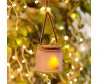 Aapno Rajasthan Purple And Black 2 Hanging Bucket Style Tealight Holders (TLT1523)