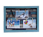Tayhaa Blue Outline Collage Photoframe for Mother's Day