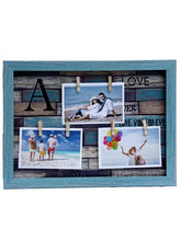 Aapno Rajasthan Blue Outline Collage Photoframe