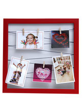 Aapno Rajasthan Red Enticing Hanging Pictures Collage Photoframe
