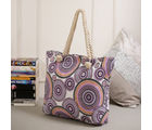 Tamirha Beautiful Multicolor Circles Designed Hand Bag for Mother's Day