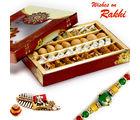 Aapno Rajasthan Premium Assorted Barfi & Dry Kachori With Free 1 Rakhi