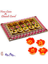 Aapno Rajasthan Premium Assorted Kaju And Anjeer Sweets Pack In Tray