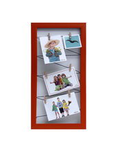 Aapno Rajasthan Rustic Red Vertical Collage Photoframe