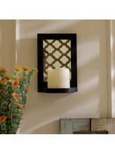 Aapno Rajasthan Charming Tealight Holder With Mirror Art (TLT1502)