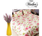 Aapno Rajasthan Combo Of Bedsheet And Dashing Decorative Flowers