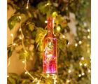 Aapno Rajasthan Deep Orange Sleek Bottle Shape Tea Light Holder (TLT1532)