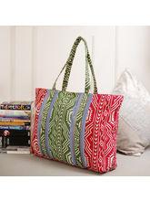 Tamirha Multicolor Lovely Contemporary Print Handb...