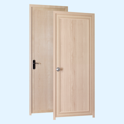 Beech sand Indiana Doors, 30 mm, 6.75x2.25  feet