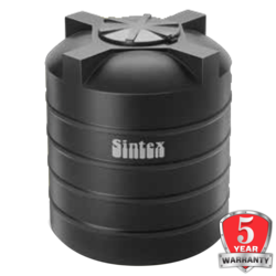 Sintex ISI Double Layer Water Tanks, black, 20000 litres