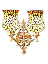 Wel Decor Handicraft Kottage Aluminum Lamp Shade (HK-WL5018), white
