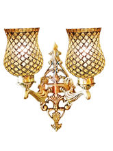 Wel Decor Handicraft Kottage Aluminum Lamp Shade (HK-WL5021), white