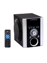 Krisons Portable Multimedia Speaker with FM, USB and AUX IN (AWONS003)