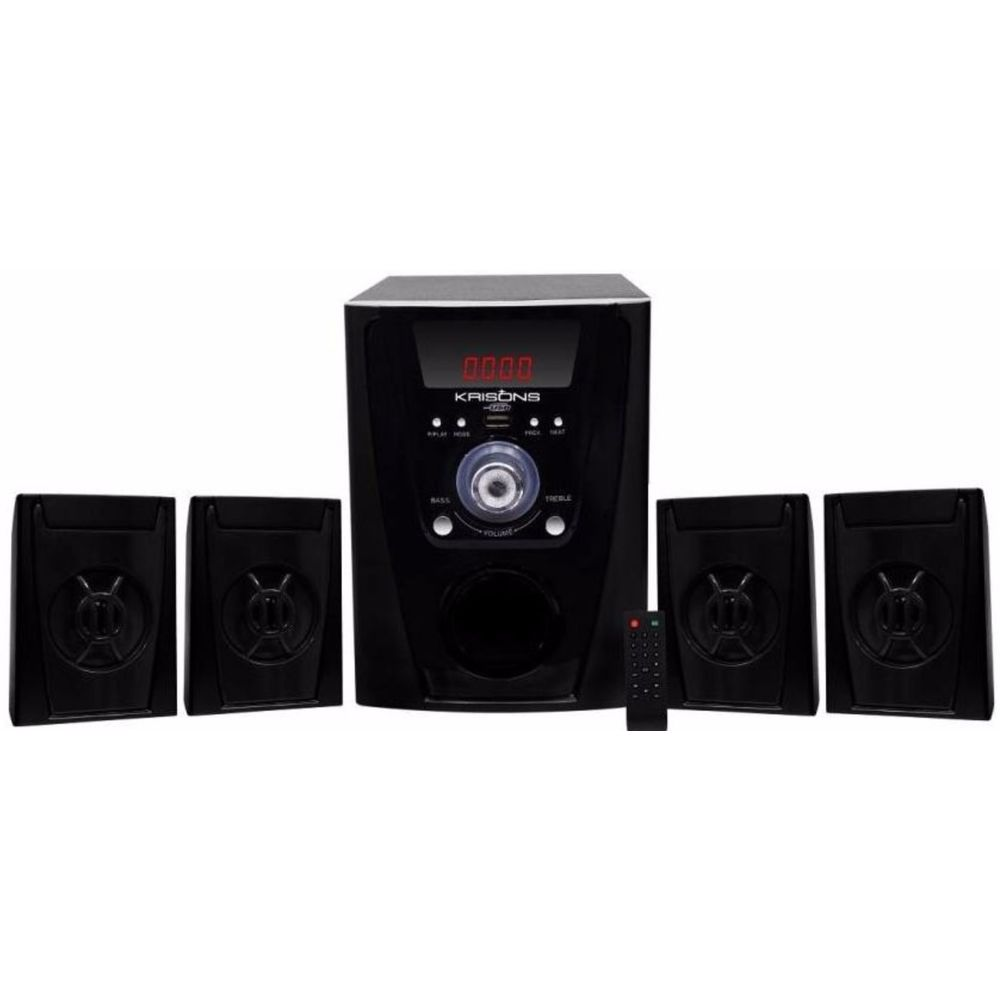b9ed4d63874 Krisons 4.1 Multimedia Speaker Price in India May