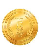 Euphoria by A. Himanshu 5 Gram 24kt Gold Coin (AHJ-5-24kt), 995 purity