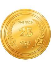 Euphoria by A. Himanshu 25 Gram 24kt Gold Coin (AHJ-25-24kt), 995 purity
