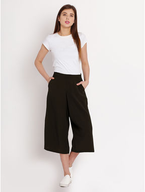 Sap Green Culottes, s, sap green
