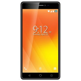 "Nuu M3 4G Volte Smartphone with 3GB RAM 32GB ROM 5.5"" Touchscreen IPS Display Mobile (Jio 4G Support) in Black Colour"