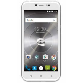 "GSmart Model Classic LTE 5.0"" Touch-screen 4G Jio 4G Support 2GB RAM & 16 GB Internal Memory and 8 Mpix / 5 Mpix 2200 mAh Battery HD Smartphone in White Colour"