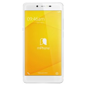 mphone 7 Plus (Finger Print Sensor) 4GB RAM Model with 5.5-inch 1080p display, Octa-Core, 4GB RAM (Reliance Jio 4G Sim Support) 64 GB Internal Memory and 16 Mpix /13 Mpix Hd VoLTE Smartphone in White/Silver Colour