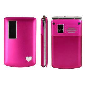 F-FOOK A7 Flip Phone (Pink Colour)