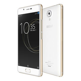 Sugar C7 Finger Print Sensor 3GB RAM Model with 5.0-inch 1080p display, Quad Core, 3GB RAM (Reliance Jio 4G Sim Support) 32 GB Internal Memory and 13 Mpix /8 Mpix HD Smartphone in White Colour