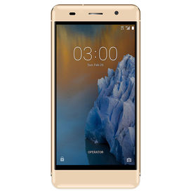 Ginger G5001 Uranus 4G Smartphone with 5-inch 2GB RAM and 16GB ROM 4G mobile in Gold Colour