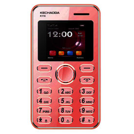 Kechaoda K116 Mini Mobile With Bluetooth Connectivity in Red Colour