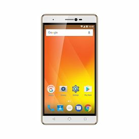 """Nuu M3 4G Volte Smartphone with 3GB RAM 32GB ROM 5.5"""" Touchscreen IPS Display Mobile (Jio 4G Support) in Gold Colour"""