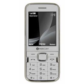 Mercury F37 Heavy Battery Dual Sim Mobile Phone in white colour