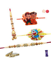 Siddhi Sales Rakhi Gift For Family, Only Rakhi Set...