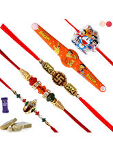 Siddhi Sales Rakhi Combo For Rakshabandhan Set Of ...