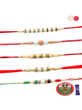Siddhi Sales Buy Rakhi With Thali For Brother - 05...
