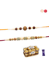Siddhi Sales Rakhi And Ferrero Chocolate, Rakhi Wi...