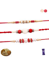 Siddhi Sales Rakhi With Dryfruits - 03 Rakhi Set, ...