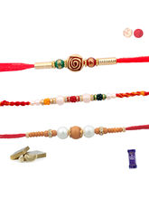Siddhi Sales Rakhi For Brother, 03 Rakhi Set, 03 R...