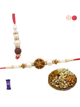 Siddhi Sales Designer Bhaiya Bhabhi Rakhi Set With...