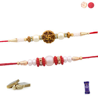 Siddhi Sales Set Of 02 Premium Rakhis, Only Rakhi