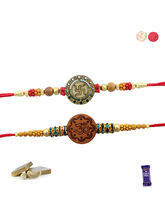 Siddhi Sales Set Of 02 Rakhi For Rakshabandhan, On...