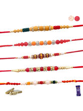 Siddhi Sales Set Of 5 Rakhis For Brother, Only Rak...