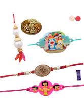 Siddhi Sales Rakhi Gift Set For Family - Rakhi Dry...