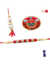 Siddhi Sales Send Bhaiya Bhabhi Rakhi Set With Tha...