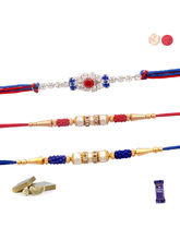 Siddhi Sales Rakhi Set - 03 Rakhis, Only Rakhi Set...