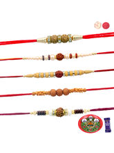 Siddhi Sales Send Rakhi With Thali For Rakshabandh...