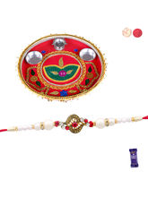 Siddhi Sales Rakhi And Thali For Brother, Rakhi Wi...