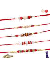 Siddhi Sales Set Of 05 Rakhi Combo For Rakshabandh...
