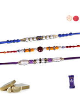 Siddhi Sales Rakhi For Brother Set Of 3, Only Rakh...