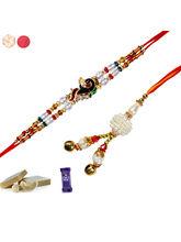 Siddhi Sales Combo Rakhi Set For Bhaiya Bhabhi, On...