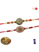 Siddhi Sales Set Of 02 Rakhi With Dryfruits, Rakhi...