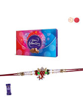 Siddhi Sales Divine Rakhi With Chocolate